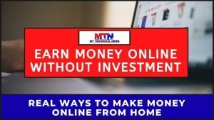 Best And Real Ways To Earn Money Online From Home In 2020