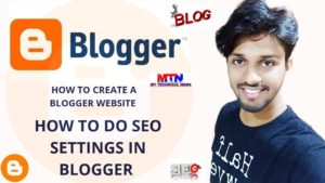 Read more about the article how to create a free website using blogger.