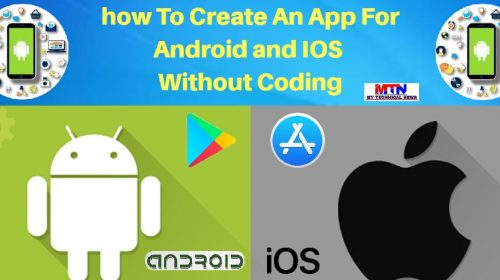 Easy Way To Make An App Without Coding In 2020