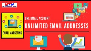 Easy Way To Get Unlimited Email Addresses From 1 Gmail Account.