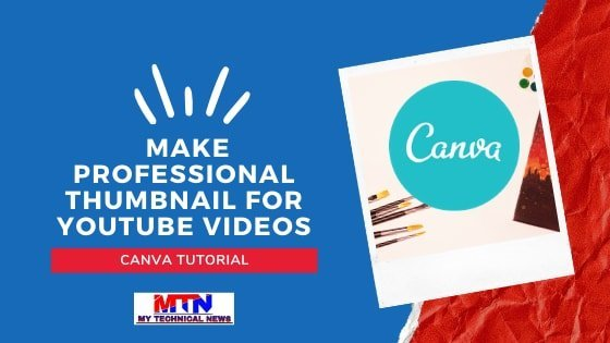 How to Create Professional Thumbnail for YouTube Videos | Free & Easy.