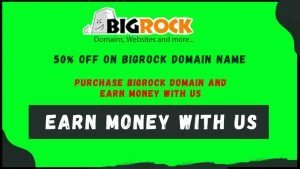 Purchase Bigrock Domain And Get Rewards | Earn Money With Us