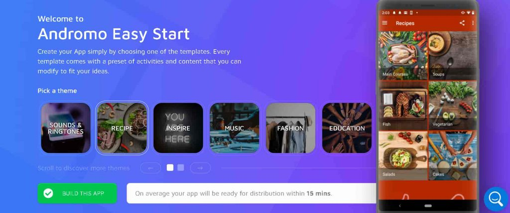 How To Create Android App Without Coding & Monetize With Admob, Facebook   Andromo App Maker