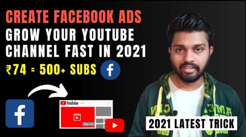 Create Facebook Ads In 2021 & Grow Your Youtube Channel Fast | Facebook Ads For Beginners