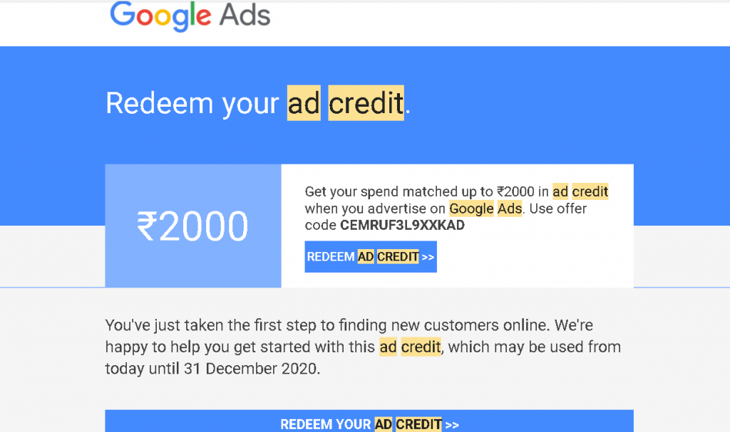 Get Free ₹3000 Google Ads Credit | The Right Way To Use Your Bidding Type | Don't Lose Your Money