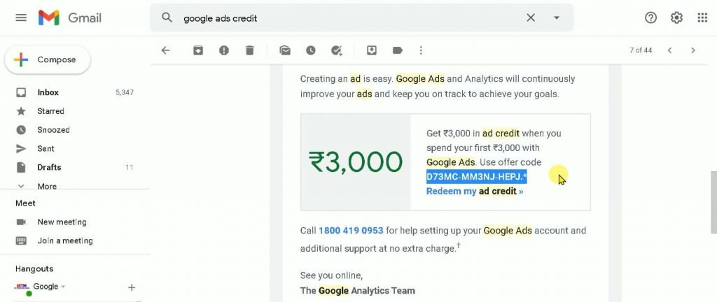 Get Free ₹3000 Google Ads Credit   The Right Way To Use Your Bidding Type   Don't Lose Your Money